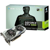 【限时特惠 包邮】影驰 GeForce GTX 1060骁将 6G显存