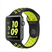 【apple授权专卖】WATCH SerieS2 42mm(0A2)灰搭黑配荧黄