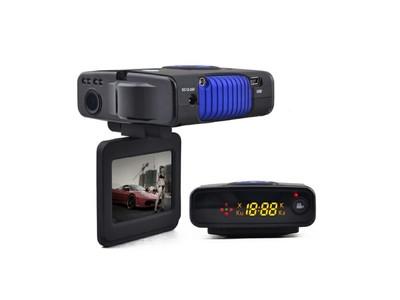 征服者568H CCO568H行车记录仪和流动固定测速电子狗一体机 全高清1080P