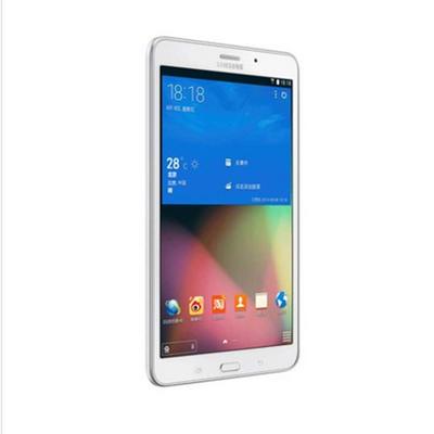 【顺丰包邮】三星 GALAXY Tab 4 T231  7英吋平板电脑 3G 通话功能 纯白色(四核处理器+1.2GHz 8GB)