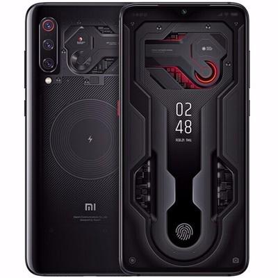 【新品现货】小米9 透明尊享版(12GB+256G)战斗天使  游戏手机 黑色 行货256GB