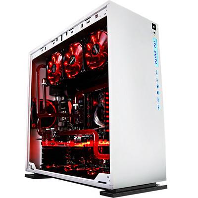 迎广IN WIN 303机箱中塔式机箱(支持ATX主板/支持水冷/钢化玻璃/侧透