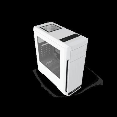 BUBALUS/大水牛驭风者M中塔机箱支持ATX仓式游戏机箱大面积侧透 包邮