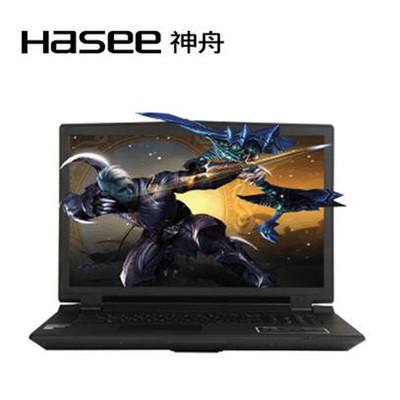 【顺丰包邮】神舟 战神G7-i7 8172 S1(标准版)17.3英吋高清游戏本,酷睿四代I7四核,GTX965M高性能显卡,1080P高清屏,1TB