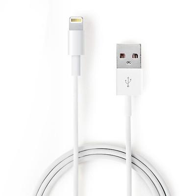 苹果MFI认证数据线 Lightning电源线1米
