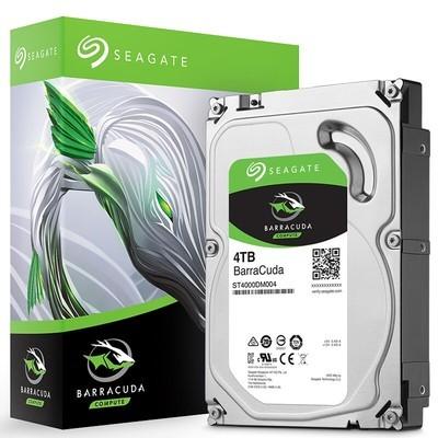 希捷 BarraCuda 4TB 5900转 256MB台式机硬盘(ST4000DM004)