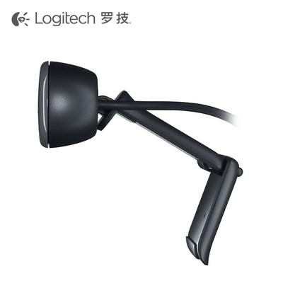 罗技C270高清500万网络视频电脑摄像头免驱带麦克风C310简版