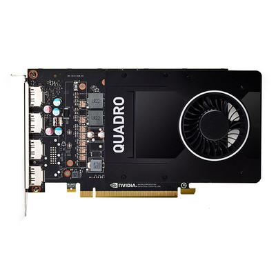 丽台 P2000 5GB GDDR5/160bit/140GBps/CUDA核心1024 Pascal 专业显卡