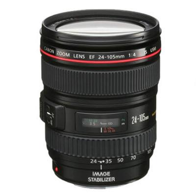 佳能(Canon) EF 24-105mm f/4L IS USM 扣机标准变焦镜头 红圈镜头