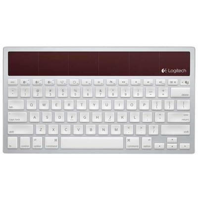 【包邮】罗技 k760太阳能键盘,太阳能键盘 蓝牙键盘