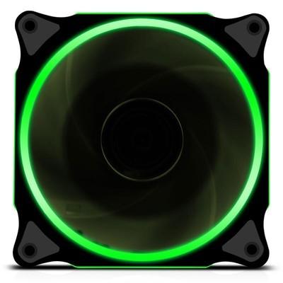 【甲骨龙】 炫光静音环形电脑机箱风扇12cm机箱散热风扇