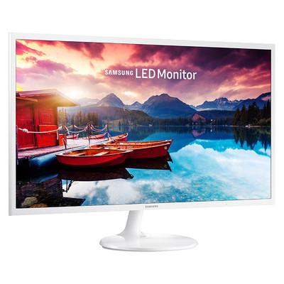 三星 SAMSUNG S32F351FUC 31.5英寸HDMI全高清液晶显示器 白色款