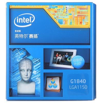 Intel/英特尔 G1840 赛扬cpu双核 替G1820处理器 配1150 H81