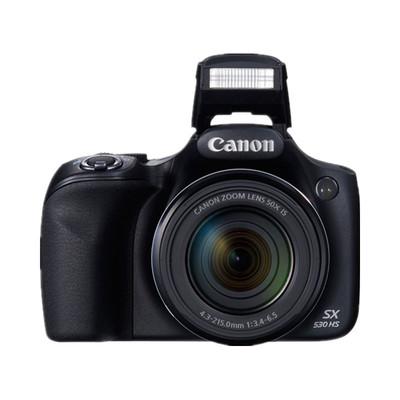 佳能 PowerShot SX530 HS 高清拍摄佳能 SX530HS(50X倍光学变焦、1600万像素)