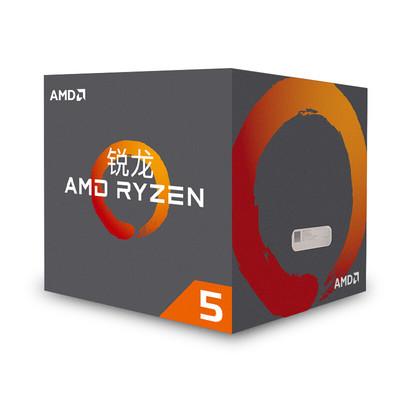锐龙 AMD Ryzen 5 1500X 处理器4核AM4接口 3.5GHz 盒装
