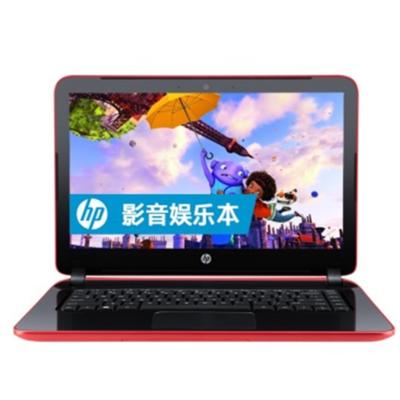 【顺丰包邮】惠普 Pavilion 14-V218tx(L0K89PA)14英吋笔记本 (i5-5200U 4G 500GB GT830M 2G独显 win8.1 红色)