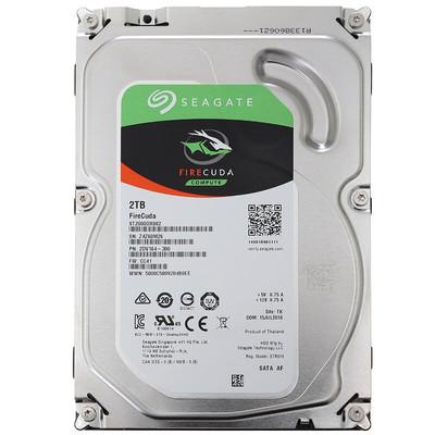 希捷 FireCuda 2TB 7200转 64MB(ST2000DX002)台式固态混合硬盘