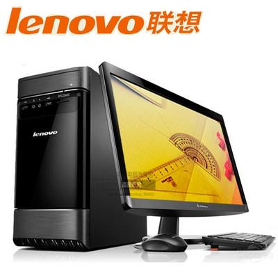 【大陆包邮 官方授权】联想 G5050(i3-4160/4G1TGD)家用台式电脑、时尚电脑 (I3-4160 4G 1000G DVDROM 2G显卡 win8)23寸
