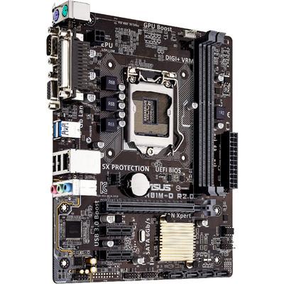 华硕H81M-D R2.0 主板 USB 3.0加速,华硕UEFI中文图形化BIOS,5重防护