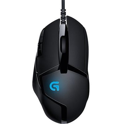 罗技G402 可编程宏侧键 守望先锋/LOL有线电竞背光游戏鼠标