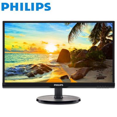 飞利浦(PHILIPS)226V6QSB6 21.5英寸AH-IPS面板细窄边框电脑液晶显示器不闪IPS硬屏双接口!TN屏的价格换IPS屏的实惠