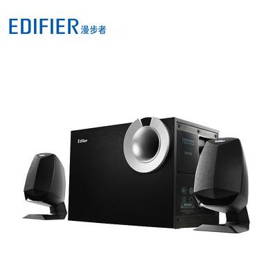 漫步者(EDIFIER) R201T08 2.1声道 多媒体音箱 音响 黑色