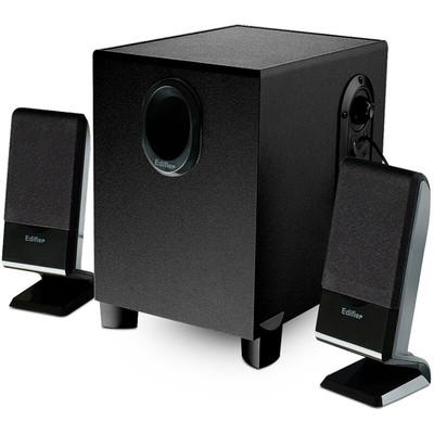 漫步者(EDIFIER) R101V 2.1声道多媒体音箱 音响 黑色