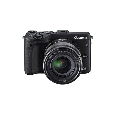 佳能(Canon)EOS M3(EF-M 18-55mm f/3.5-6.3 IS STM)微型单电套机
