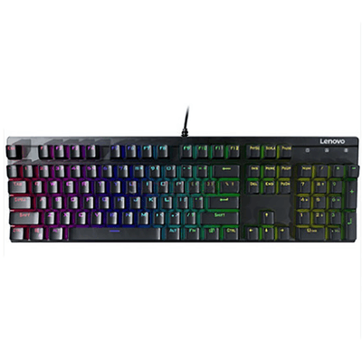 联想(Lenovo)拯救者MK310 RGB 青轴机械键盘 游戏办公键盘 包邮