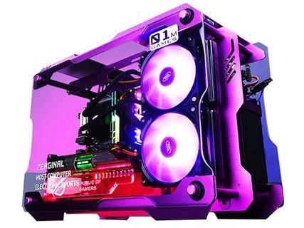甲骨龙GL01 Intel九代i7 9700K GTX1660TI 6G独显256G M.2固态硬盘 标配