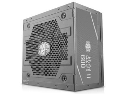 酷冷至尊战剑600额定600W电源台式机 电脑电源80PLUS认证 黑色