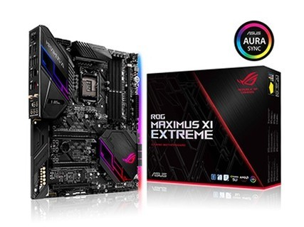玩家国度(REPUBLIC OF GAMERS) ROG MAXIMUS XI EXTREME 主板 M11E 黑色