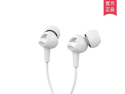 JBL C100SI 入耳式运动耳机通话带麦线控音乐耳机