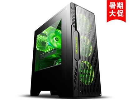 晶彩i5 7400/GTX1050-2G/DIY游戏组装台式电脑