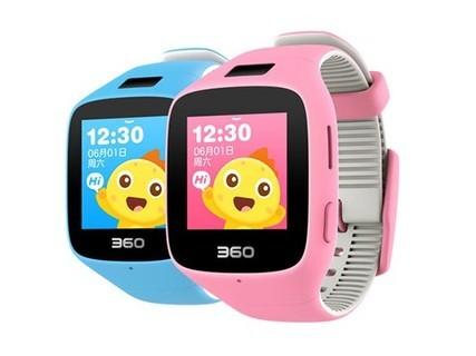 360 巴迪龙儿童手表5C粉色,可以拍照的电话手表