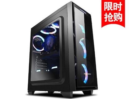 光韵四核i5 7400/DIY组装游戏电脑主机台式机兼容机 套餐一