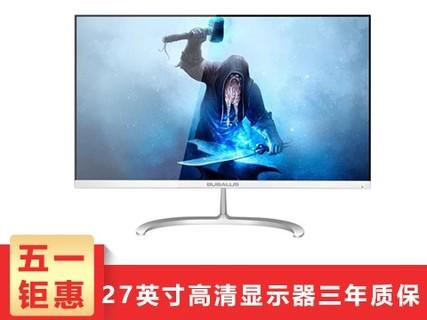 大水牛 BUBALUS W27 27英寸广视角LED背光液晶 轻薄电脑显示器 W27  27英寸
